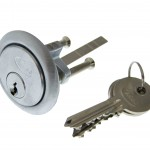 silver keys locks security