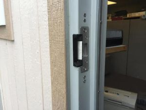 Back door high security installations with locksmith Woodhouse specialists