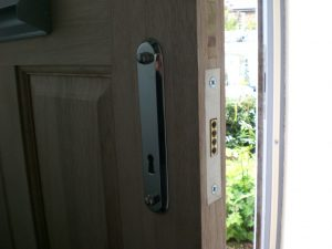 High quality front door lock installations with locksmith Woodhouse installers